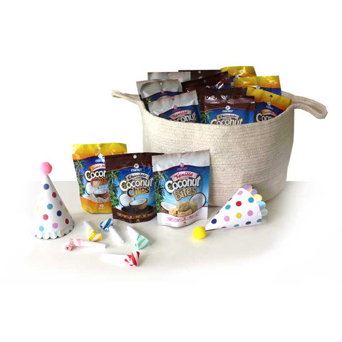 Family Party Coconut Snack Pack 30 Assorted Flavours