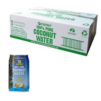 Pure Coconut Water 24 Small Cans 320 ml Free Shipping
