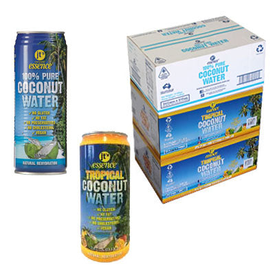 Tropical Coconut Water 2 boxes of 490 ml Cans – Coconut Water 1 box of 510 ml Cans