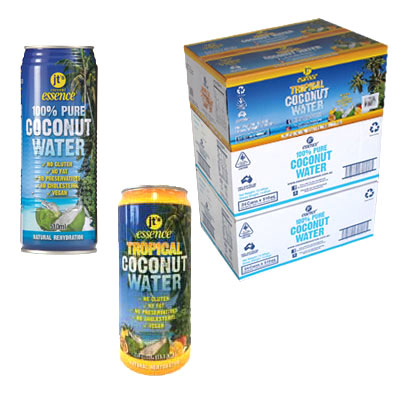 Tropical Coconut Water 24 490ml Cans – Pure Coconut Water 48 510ml Cans