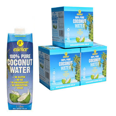 Buy Bulk 3 Pure Coconut Water 18 One Litre Tetra Packs