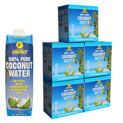 Buy Bulk 5 Pure Coconut Water 30 One Litre Tetra Packs