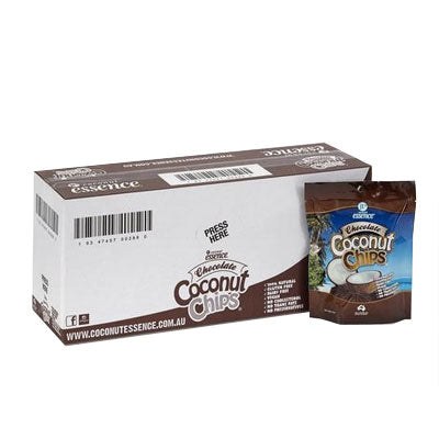 10 Pack Chocolate Coconut Chips