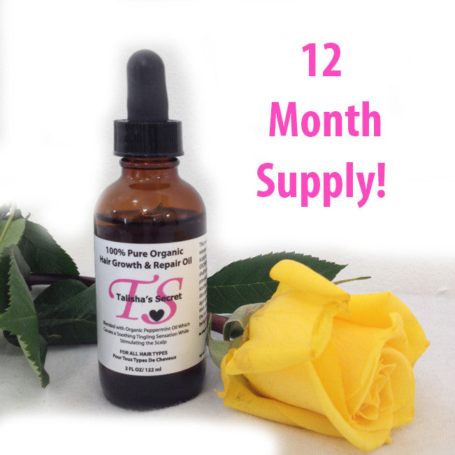 TS Hair Growth Product- 12 Month Supply
