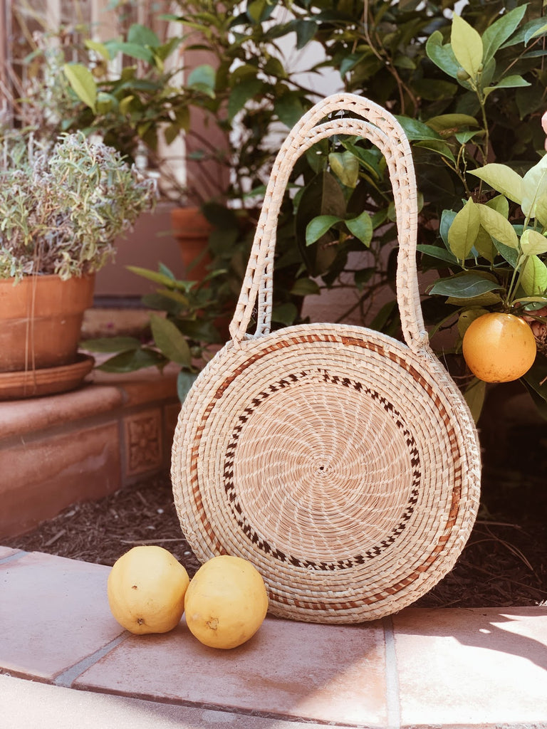 Rosa Carandillo Bag with Nature Background
