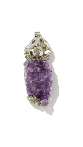 Amethyst Necklace | Positivity - Siembra Heritage