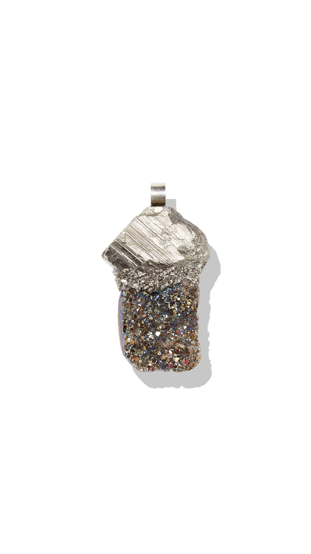 Aura Quartz Necklace - Siembra Heritage