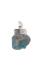 Chrysocolla Necklace | Clarity - Siembra Heritage