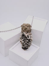 Load image into Gallery viewer, Albite / Black Tourmaline Necklace | Balance - Siembra Heritage