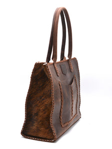 Gandul Cowhide Day Tote - Siembra Heritage