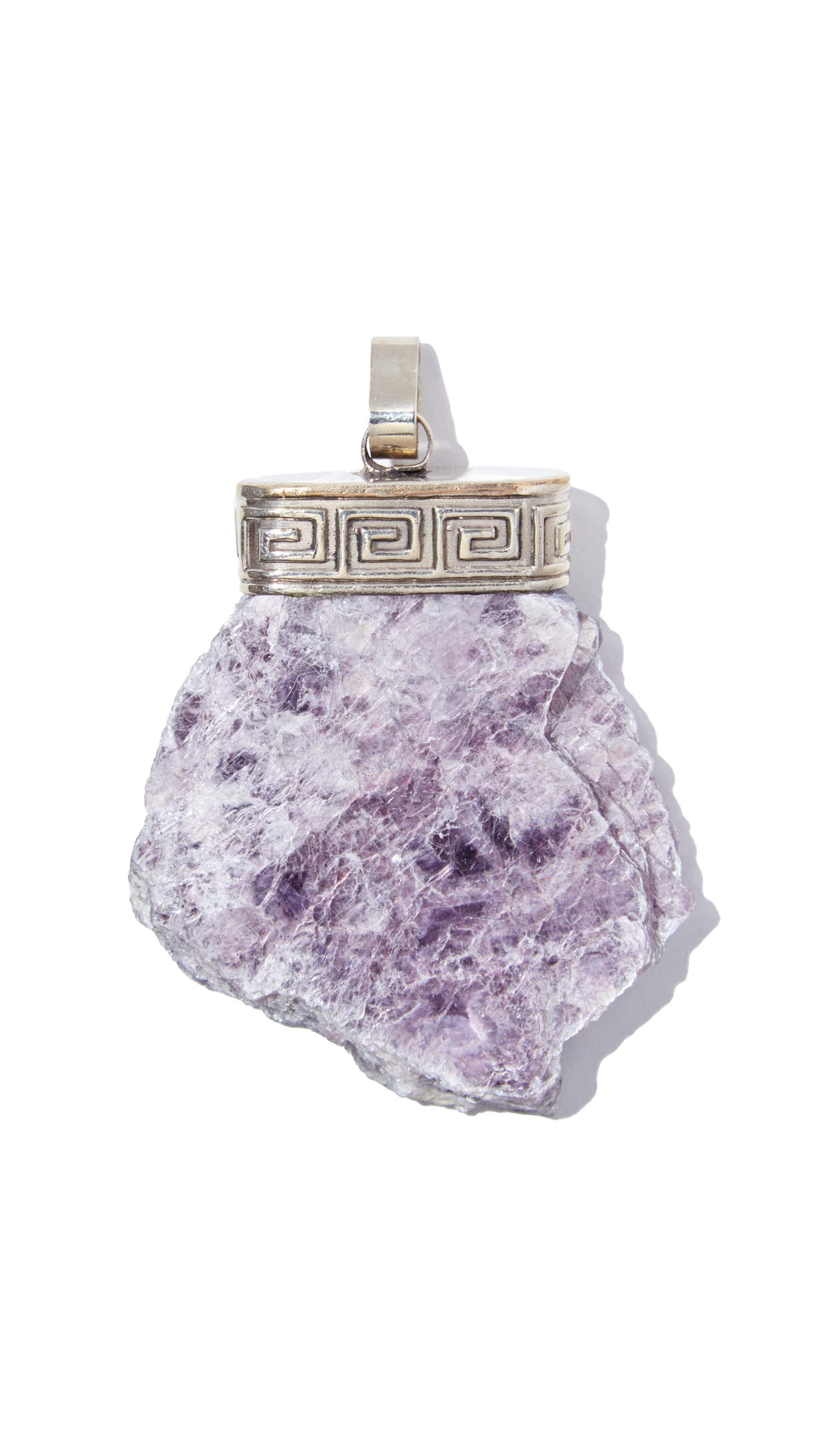 Lepidolite Necklace | Clarity - Siembra Heritage