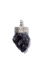 Obsidian Necklace | Protection - Siembra Heritage