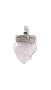 Rose Quartz Necklace | Positivity - Siembra Heritage