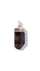 Smoked Quartz Necklace | Balance - Siembra Heritage