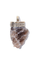 Load image into Gallery viewer, Smoked Quartz Necklace | Balance - Siembra Heritage