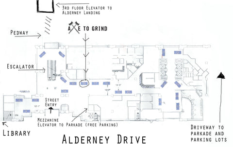New Location at Alderney Farmers' Market (Indoors)
