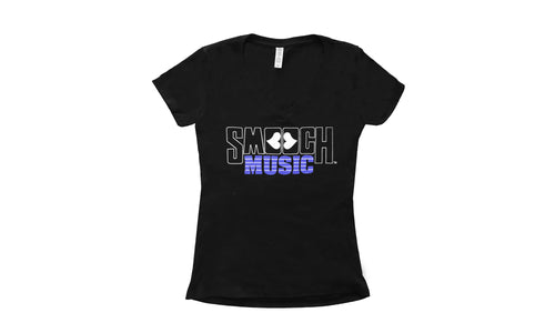 Smooch Music Women's V-neck T-shirt