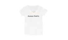 Load image into Gallery viewer, Human Family Women's V-neck T-shirt