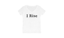 Load image into Gallery viewer, I Rise Women's V-neck T-shirt