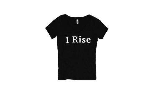 I Rise Women's V-neck T-shirt