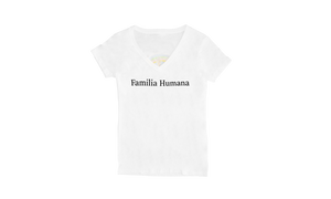 Familia Humana Women's V-neck T-shirt