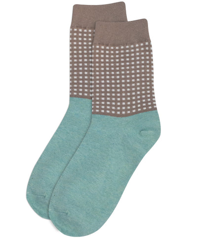 Grid Sand Socks