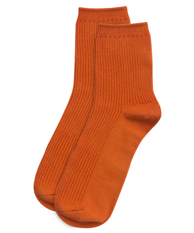 Orange-colour-socks