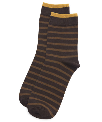 Tokio stripe brown socks