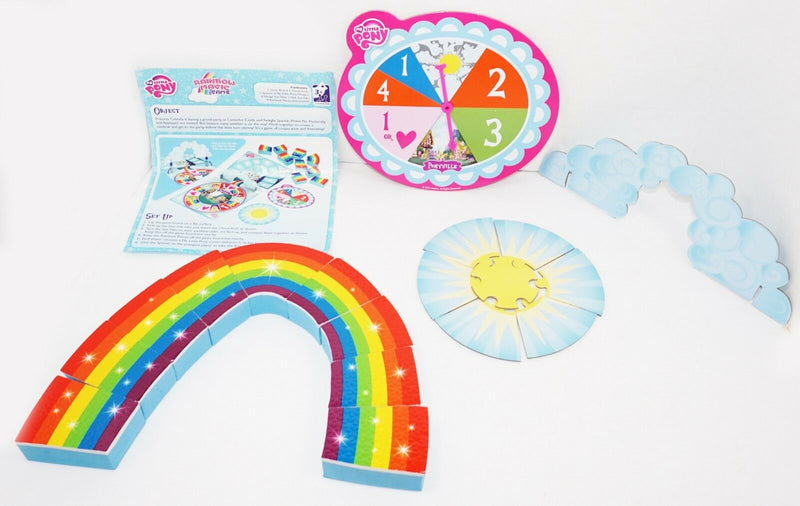 REPLACEMENT PIECES - MY LITTLE PONY RAINBOW MAGIC GAME USED 2014 - FOR PARTS - EZ Monster Deals