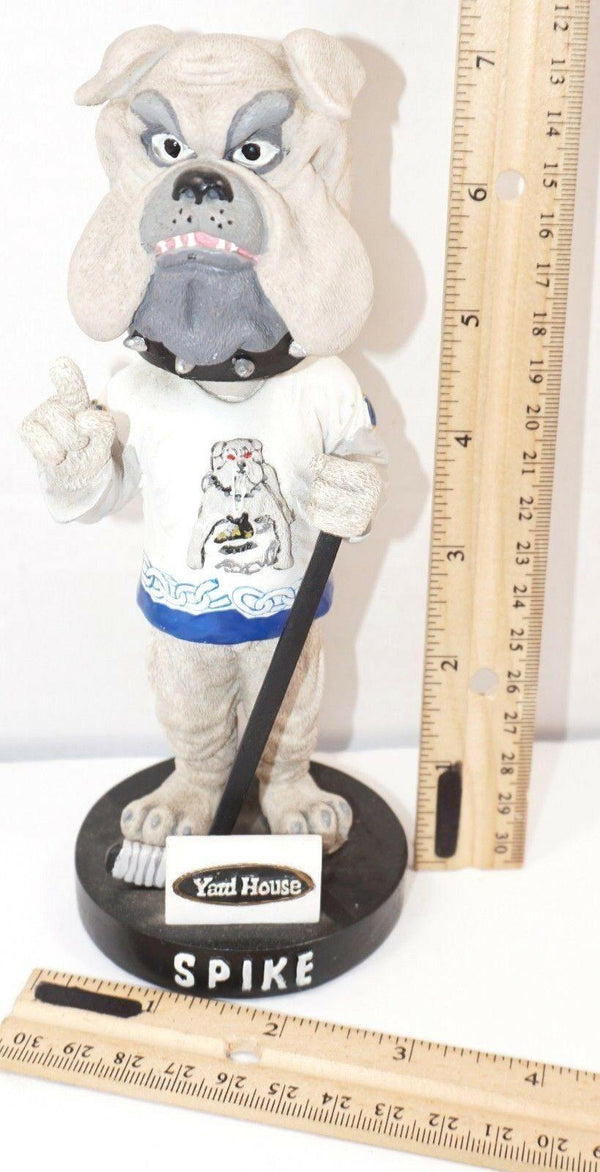 SPIKE MASCOT BOBBLE-HEAD LONG BEACH ICE DOGS MINOR LEAGUE HOCKEY USED STYLE#2 - EZ Monster Deals