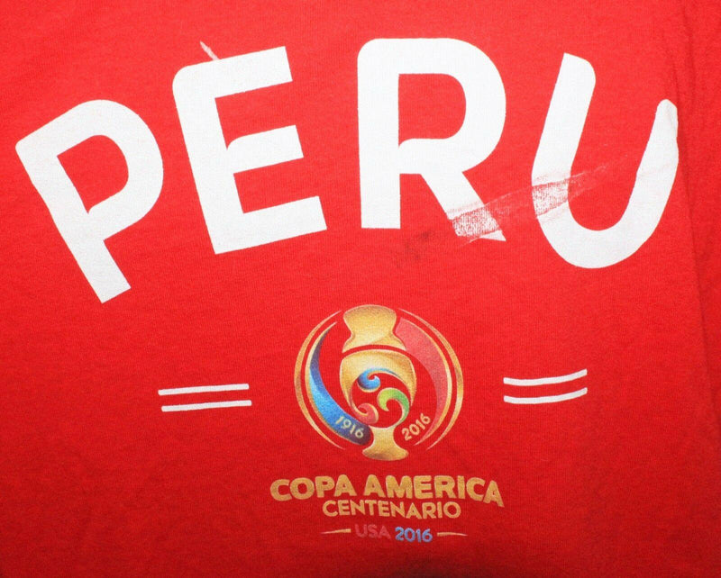 PERU - SOCCER COPA AMERICA CENTENARIO MEN XLARGE RED XL SHIRT OR WOMEN NEW 2016 - EZ Monster Deals