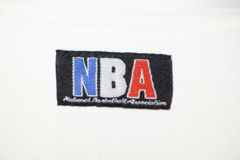 NBA National Basketball Association Shirt Size L - Vintage White T-shirt Large