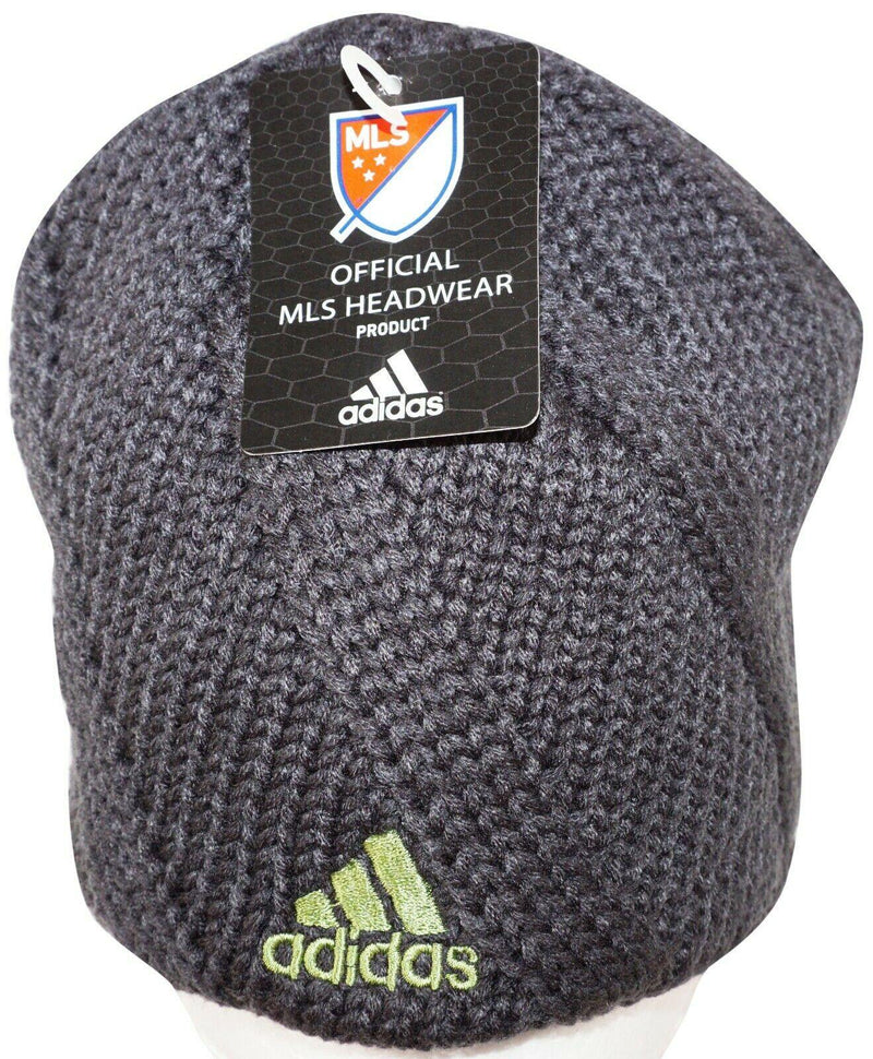 SEATTLE SOUNDERS FC MLS SOCCER - GRAY BEANIE CAP ONE SIZE NO CUFF NEW 2012-EZ Monster Deals