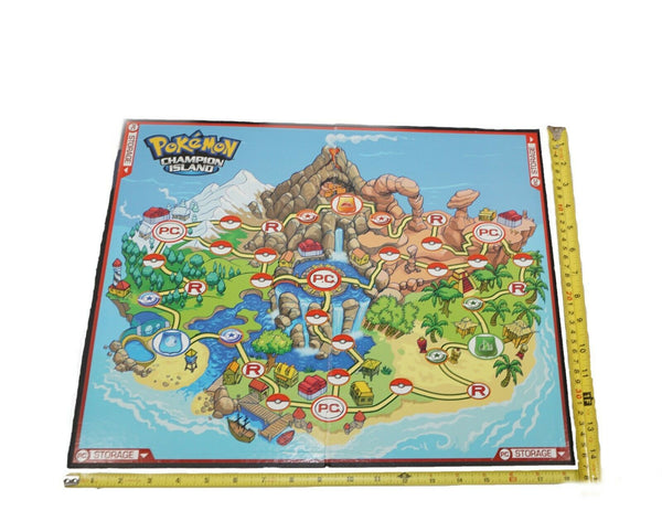 Replacement Board Piece only - Pokemon Champion Island Toy Game 2007