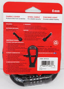 SCHWINN BRIGHT BUDDIES - RED LADYBUG THEME LED LIGHT & BIKE LOCK CHAIN NEW 2017-EZ Monster Deals