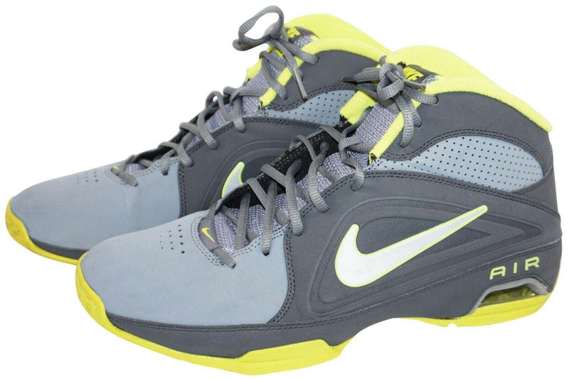 NIKE AIR VISI PRO III GRAY MID TOP 525745-004 GREY MENS SHOE 10.5 - NO BOX USED - EZ Monster Deals