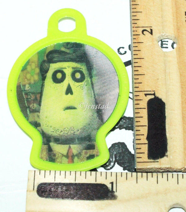 THE BOOK OF LIFE MANOLO - CARL'S JR SKELETON TOY HEAD KEY CLIP KEYCHAIN 2014