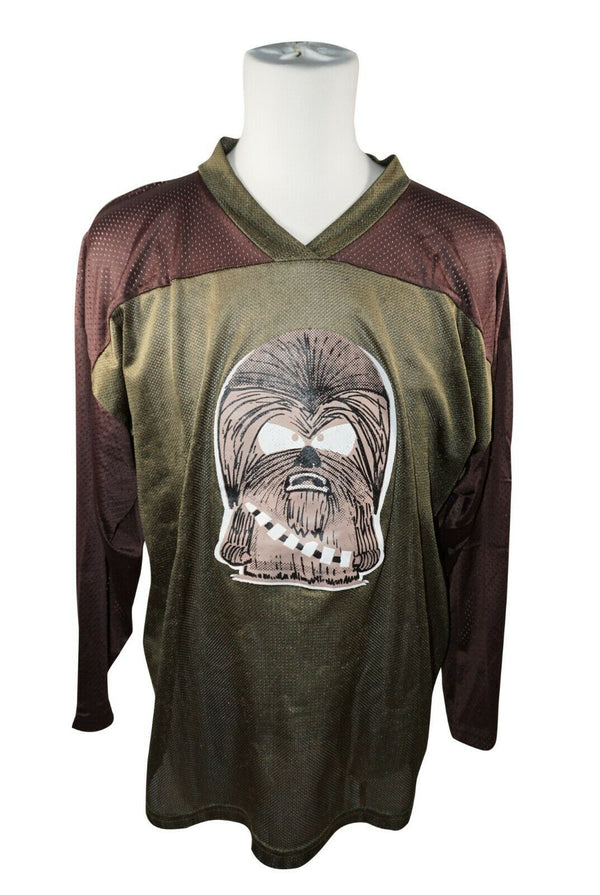 XTREME HOCKEY SR M CHEWBACCA HOCKEY JERSEY #27 - ADULT MEDIUM ICE ROLLER USED - EZ Monster Deals