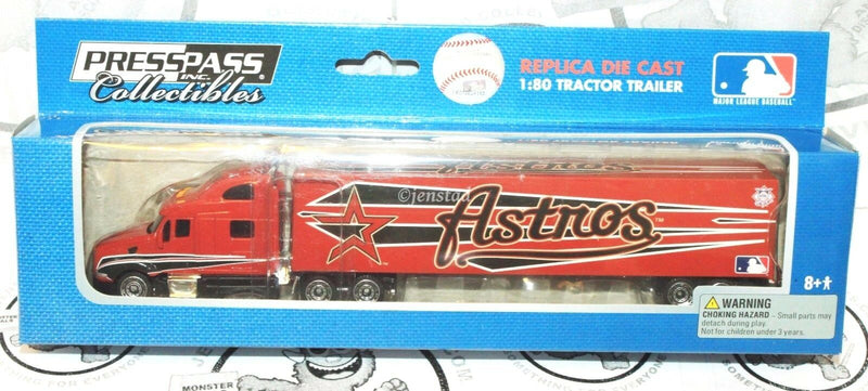 HOUSTON ASTROS MLB BASEBALL 1:80 DIECAST TRUCK TRACTOR TRAILER TOY VEHICLE 2009 - EZ Monster Deals