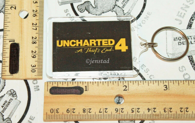 UNCHARTED 4 OFFICIAL GAMING MERCHANDISE A THIEF'S END KEYCHAIN RETAIL EXCLUSIVE - EZ Monster Deals