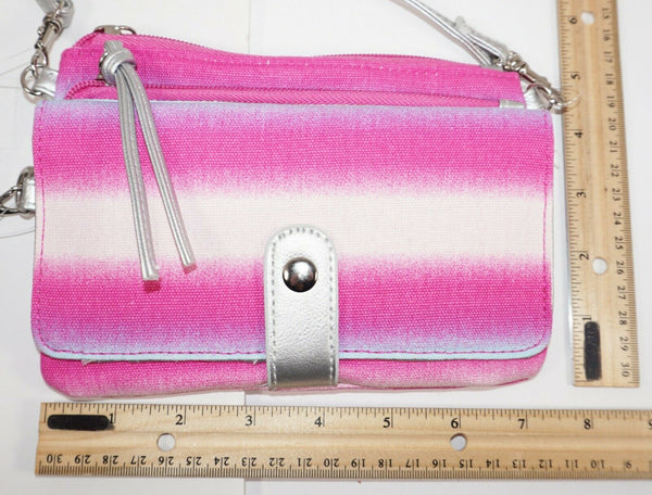 NOBO NO BOUNDARIES - SMALL CROSSBODY PASTEL PURSE BAG MULTIPLE COMPARTMENTS NEW - EZ Monster Deals