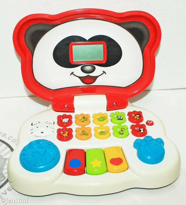 VTECH ANIMAL FRIENDS TODDLER KIDS TOY LAPTOP TALKS SOUNDS LIGHTS UP USED & CLEAN - EZ Monster Deals