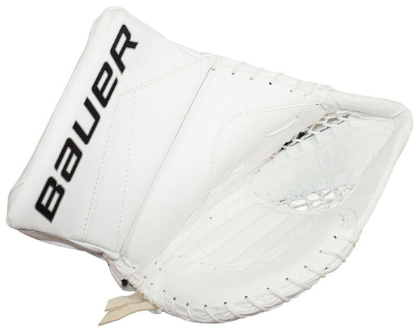 BAUER REACTOR 5000 SR - GOALIE GLOVE MITT SENIOR GOAL ICE HOCKEY WHITE 2015-EZ Monster Deals