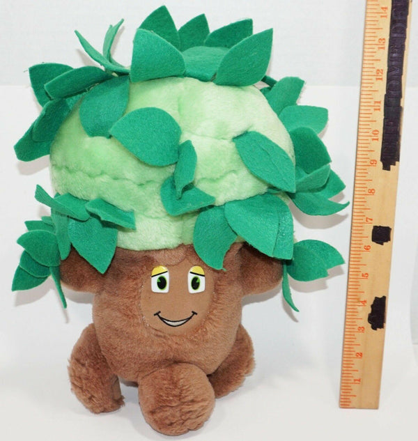"TREE BARK BUDDIES 13"" PLUSH TOY FIGURE - BY HERITAGE GIFTS 1992 ECO THEME USED - EZ Monster Deals"