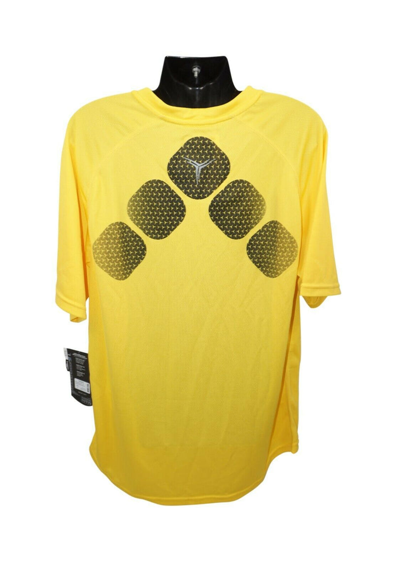 BAUER HOCKEY LOGO'D TRAINING 37.5 PREMIUM TEE - YELLOW XL SHIRT YOUTH KID XLARGE - EZ Monster Deals