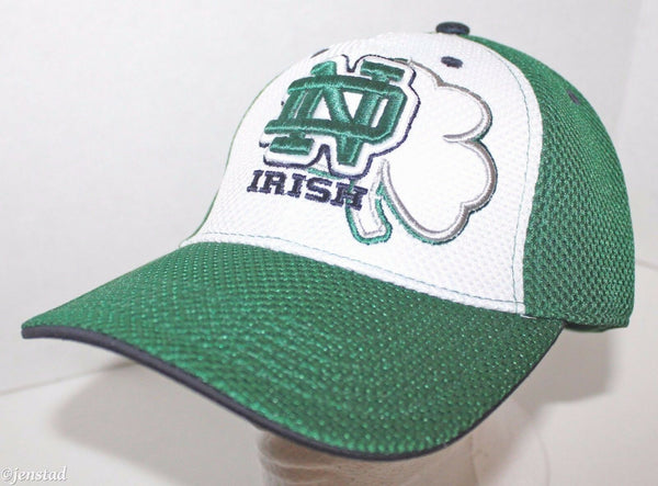 NOTRE DAME FIGHTING IRISH NCAA STRETCH FIT MESH HAT TOP OF THE WORLD OLDER LOGO-EZ Monster Deals