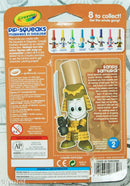 PIP-SQUEAKS SANDY SAMURAI IN DISGUISE SERIES 2 CRAYOLA MARKERS TOY FIGURE 2013 - EZ Monster Deals