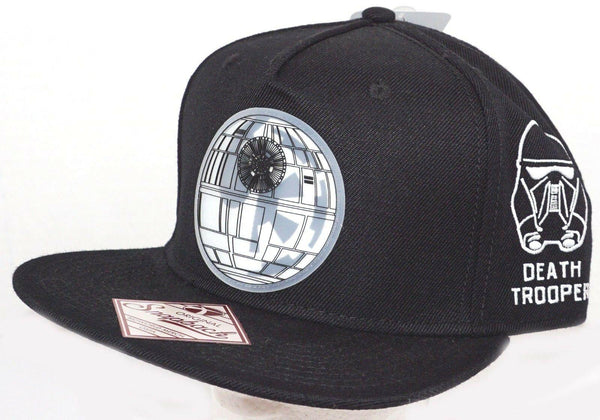 DEATH STAR EMPIRE -  DISNEY STAR WARS ROGUE ONE BLACK CAP HAT SNAPBACK BIOWORLD - EZ Monster Deals