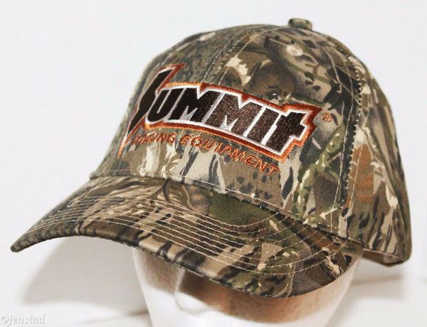 SUMMIT RACING EQUIPMENT EMBROIDERED CAP HAT BROWN CAMO SERIES CAMOUFLAGE 1 SIZE - EZ Monster Deals