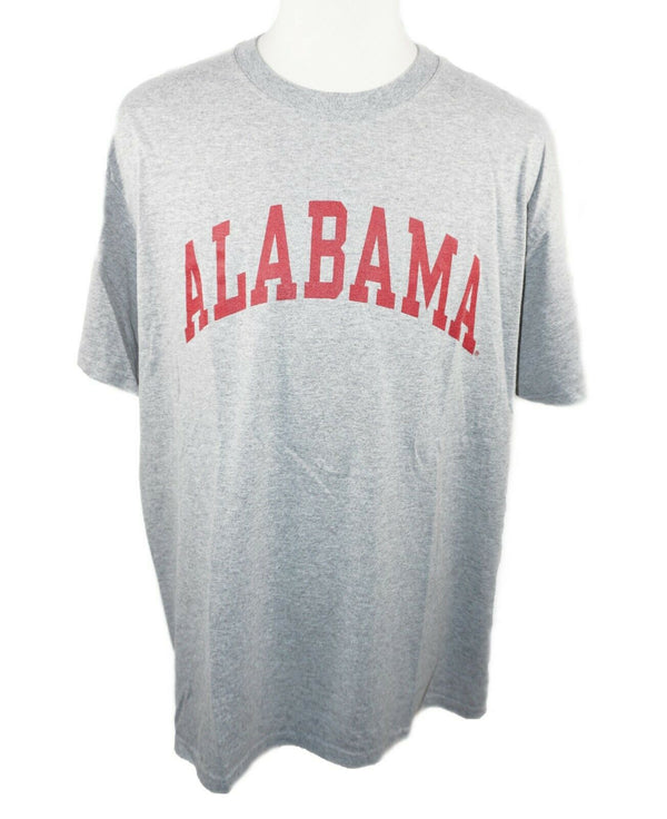 University of Alabama Crimson Grey Distress Style Shirt XL - Men's Tee XLarge